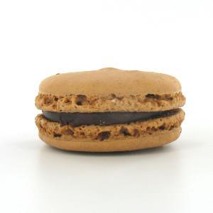 Macaron chocolat noir 70%