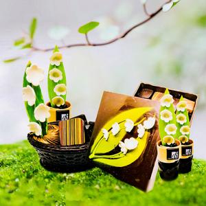 Création atisanale chocolat mai muguet 2018