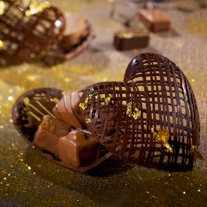 Creation artisan chocolat Saint Valentin