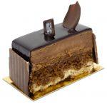 Trianon gateau individuel mousse chocolat noir et feuilletine croustillante biscuit joconde Délices Des Sens